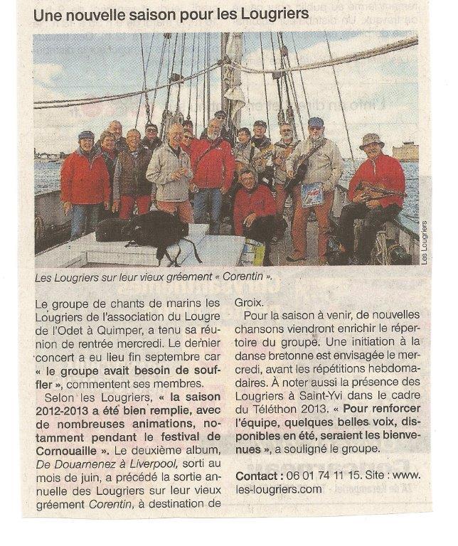 Réunion des Lougriers (Oct 2013)